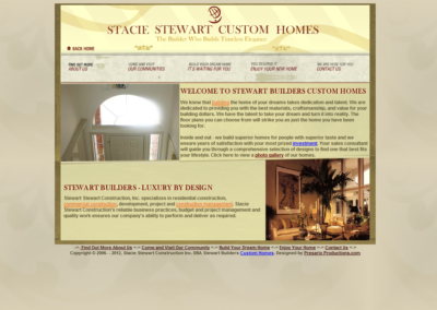 Stacie Stewart custom homes
